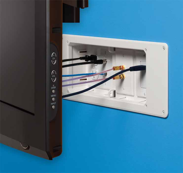 Home Theater Wire Concealment
